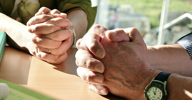 Gespräche über Ängste in der psychoonkologischen Betreuung